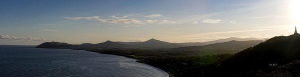 Killiney Hill to Bray Panorama