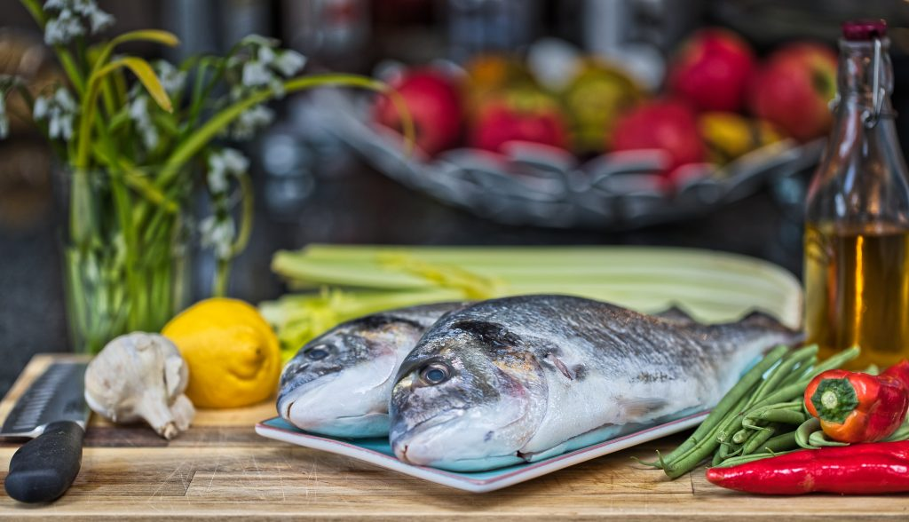 Food Photography - Fish - Seabream